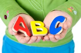 The ABC's of life. Education is the key to the future.
